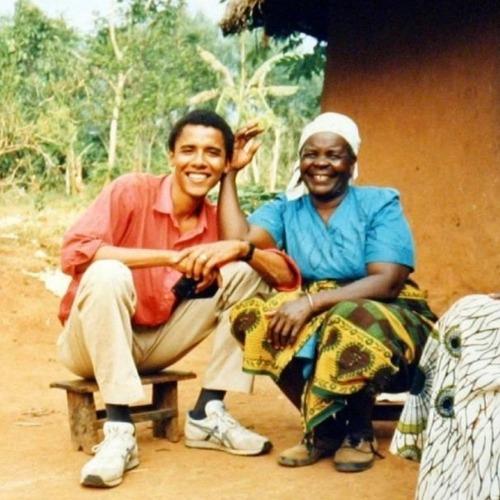 Barack Obama et sa Grand-Mère, Sarah Obama