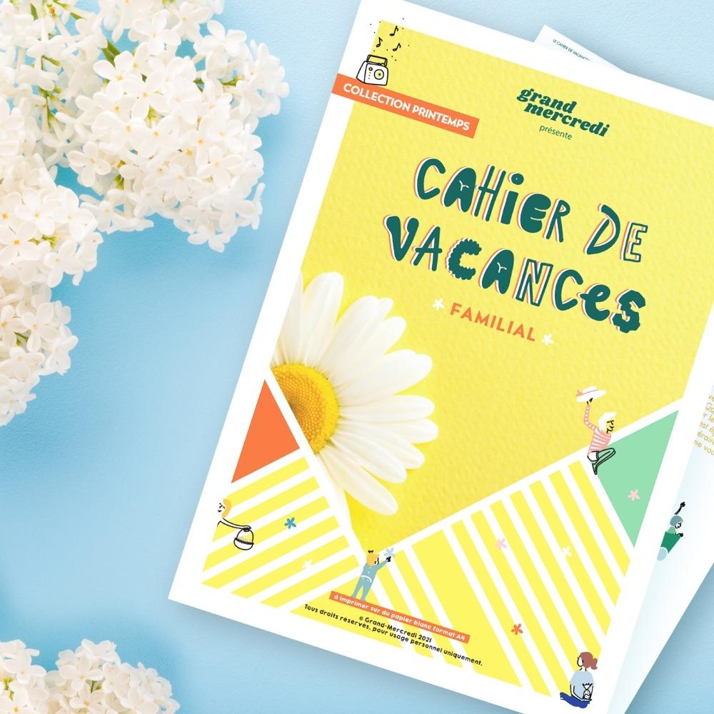 Le cahier de vacances spécial printemps est là !