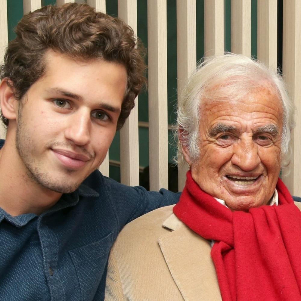 Jean-Paul Belmondo et son Petit-Fils