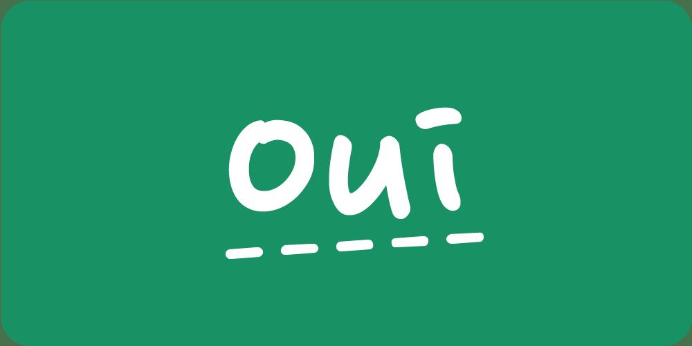 oui vert