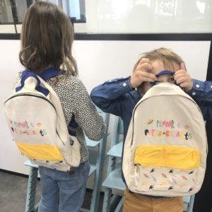 Le Sac à dos des Petits-Enfants