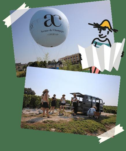 compo montgolfière