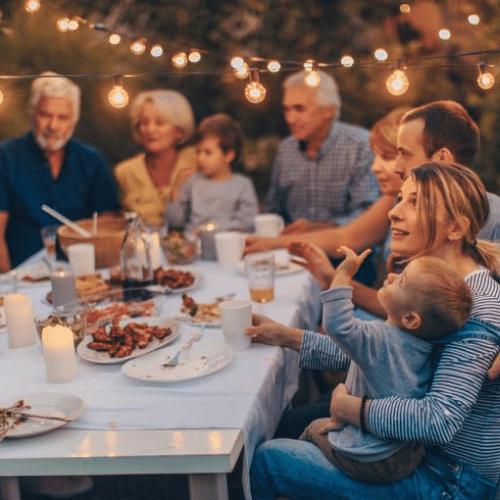 Dîner en famille : un repas important
