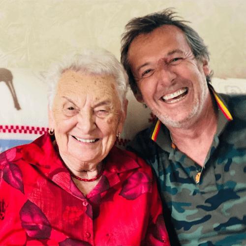 Jean-Luc Reichmann et sa Grand-Mère