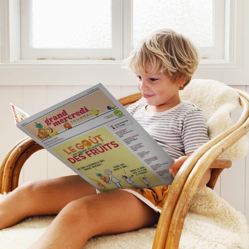 Un Journal à croquer... donnez le goût des fruits à vos Petits-Enfants !